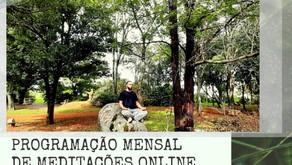 Programação Mensal de Meditações em Espanhol e Português