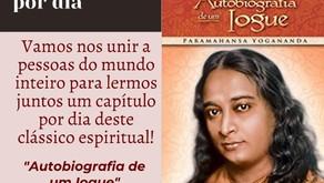"""Leitura de """"Autobiografia de um Iogue"""", de Paramahansa Yogananda"""
