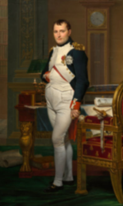 David - Emperor Napoleon in his study at