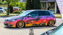 Golf 7 Color Bomb Digital Druck