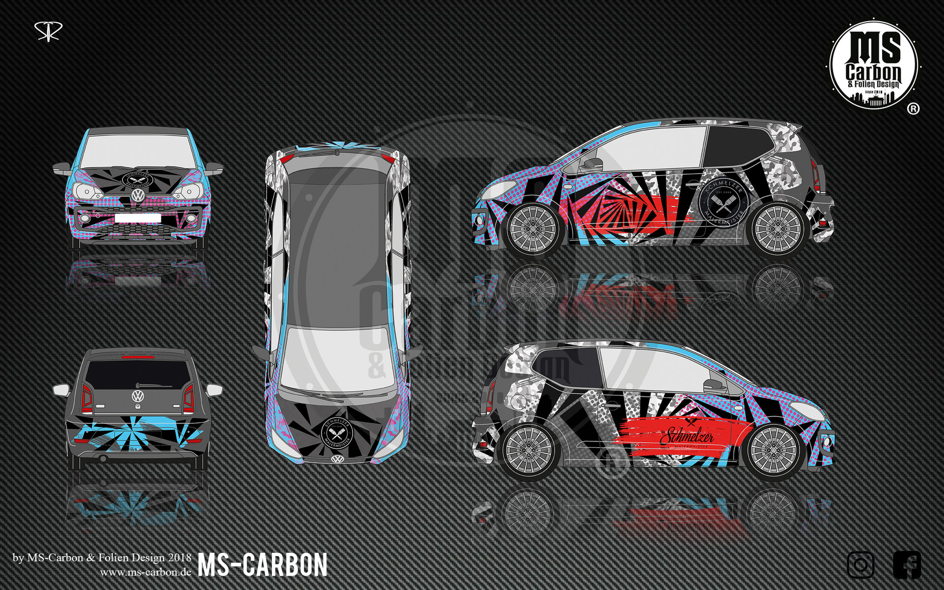 Volkswagen Up JP design
