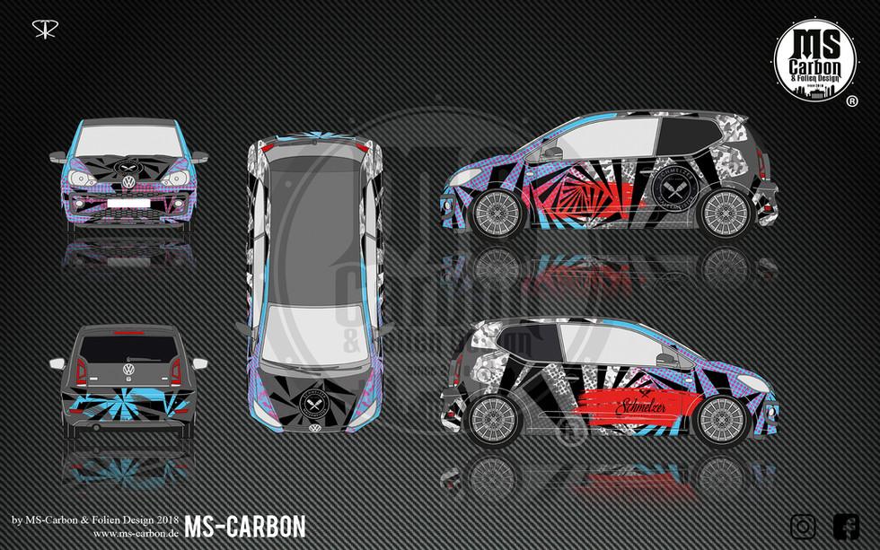 Volkswagen Up JP design