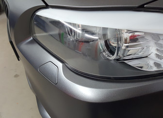 BMW in 3M Matt Charcoal Metallic