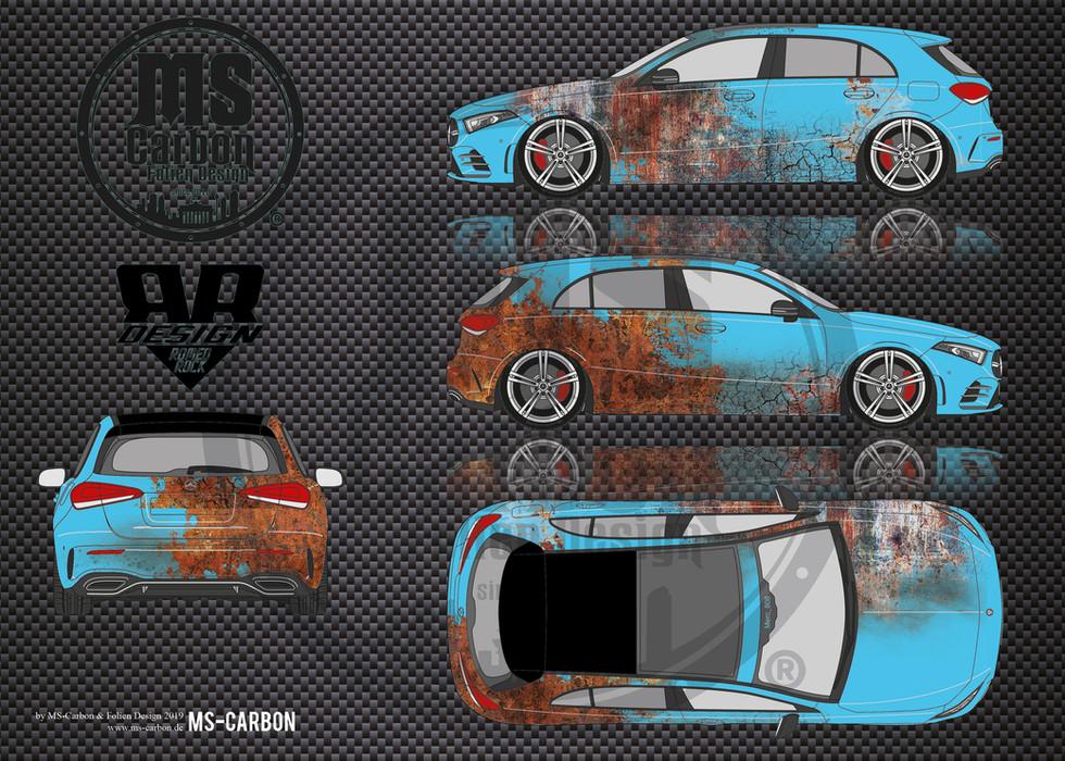 Mercedes A klasse Rust
