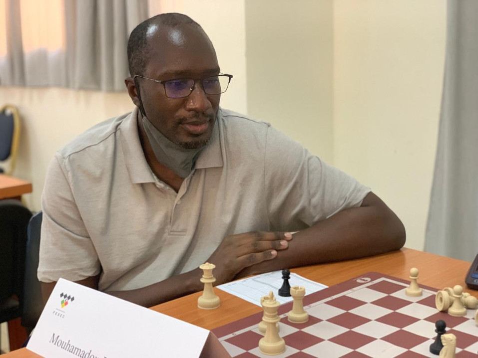 Mouhamed Diop Senegal Chess