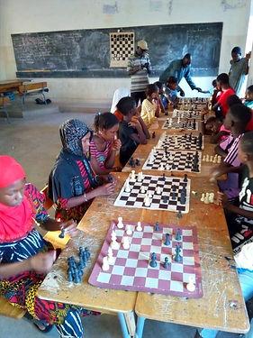 Journées échiquéennes à Guédiawaye
