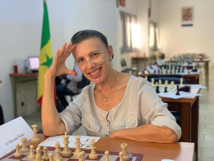 Lubov Bobrova Senegal Chess