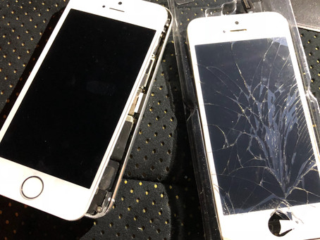iPhone5s修理 小平市花小金井 画面が映らない 夜間に対応