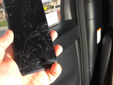 iPhone7 ガラス割れ修理 三鷹市上連雀