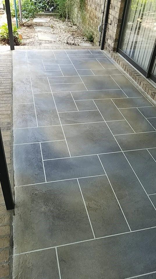 Beautiful ashlar slate