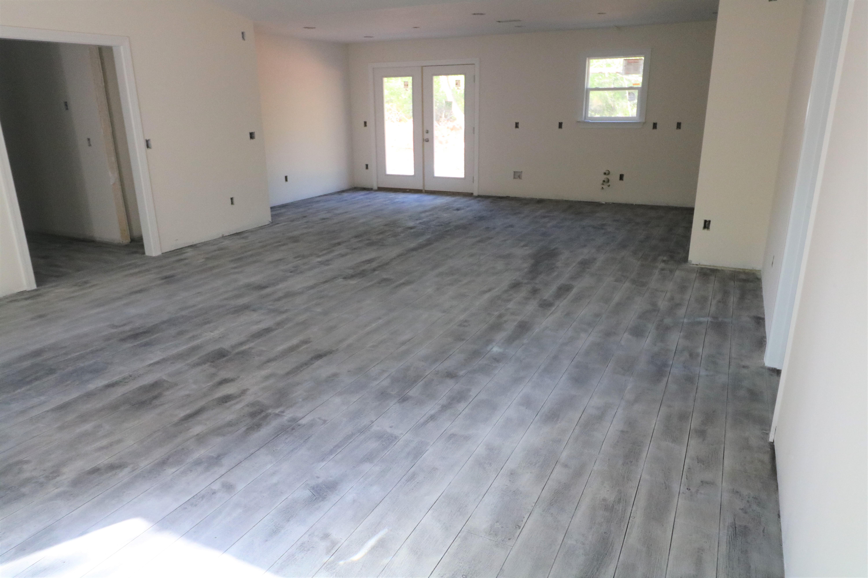 Gray concrete wood