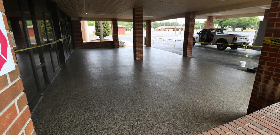 Exterior Flake Flooring