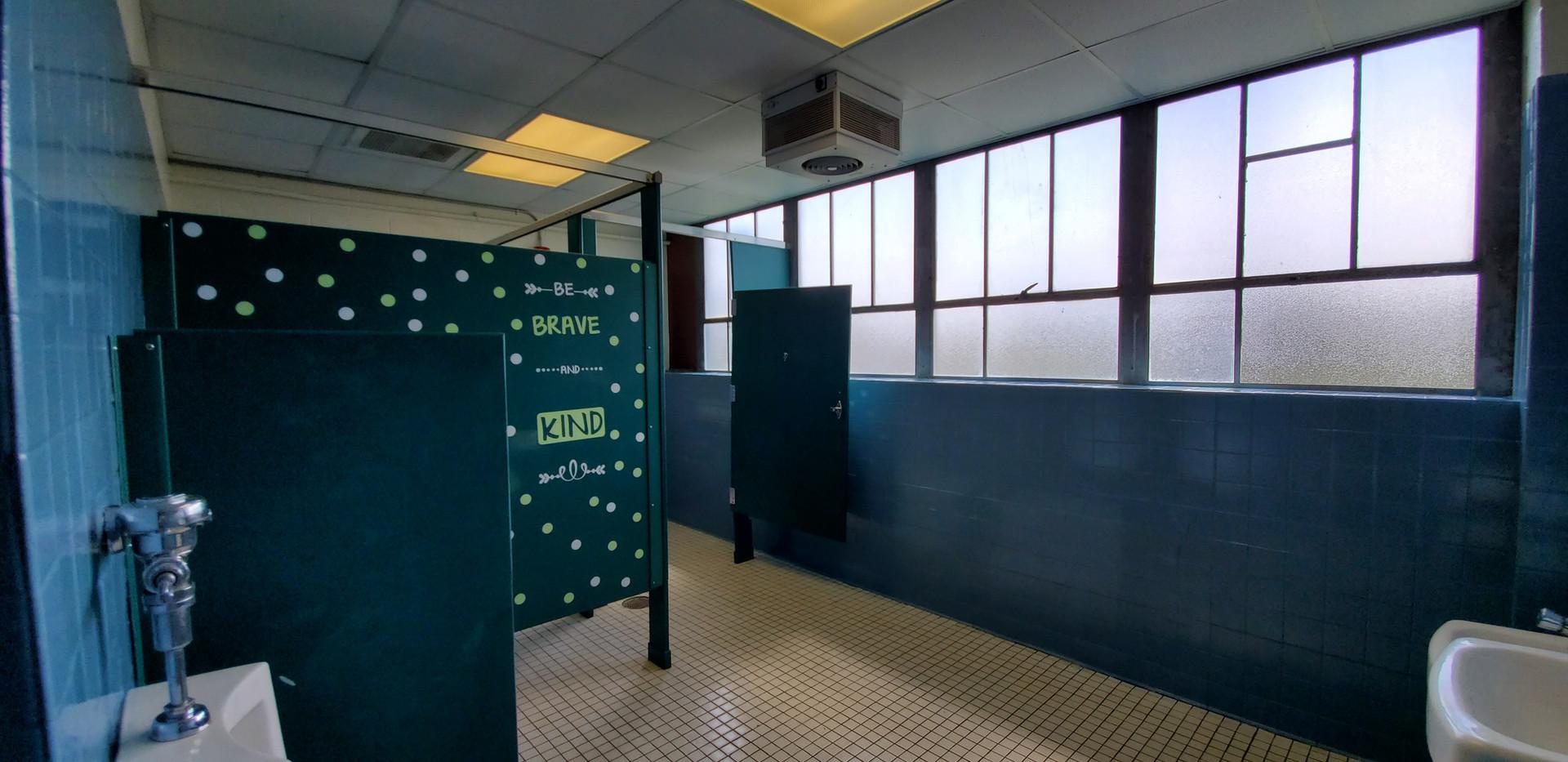 Epoxy coated walls