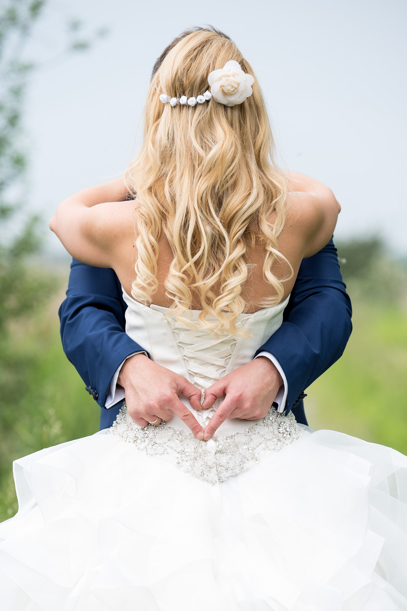 ötletes esküvői fotók