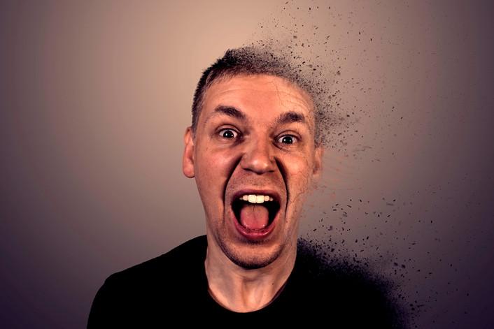 Head dispersion photoshop