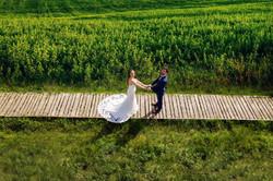 esküvői fotózás drónnal