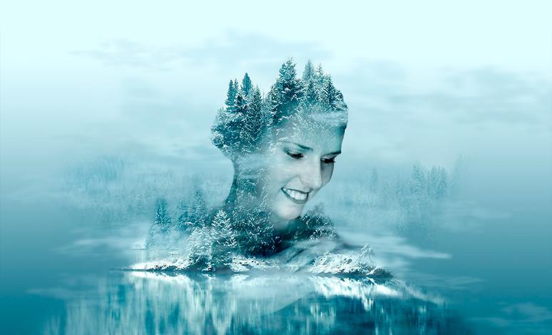 Kreatív portré profilkép