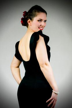 Divat modell glamour fotó