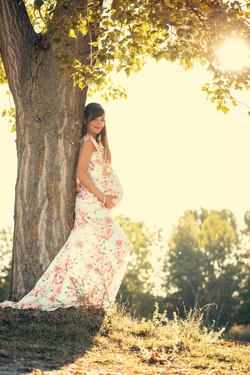 várnadós fotózás kismama