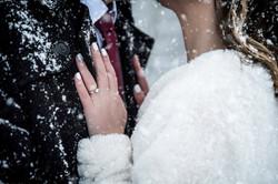 téli esküvő fotózás