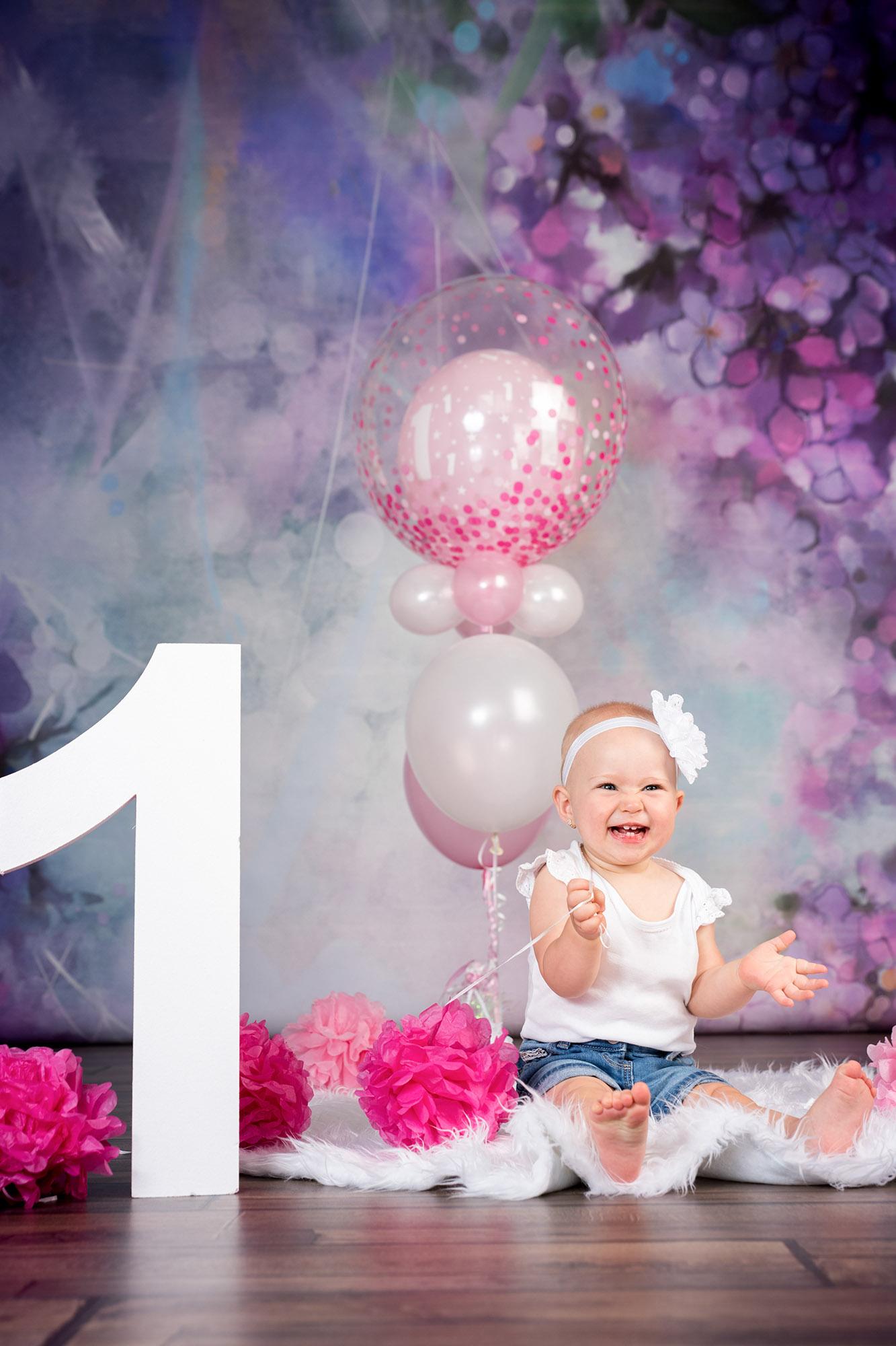 egy éves szülinap fotózás
