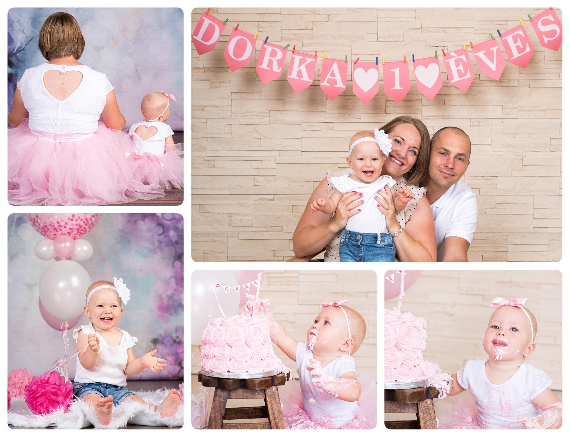 első szülinap fotózás
