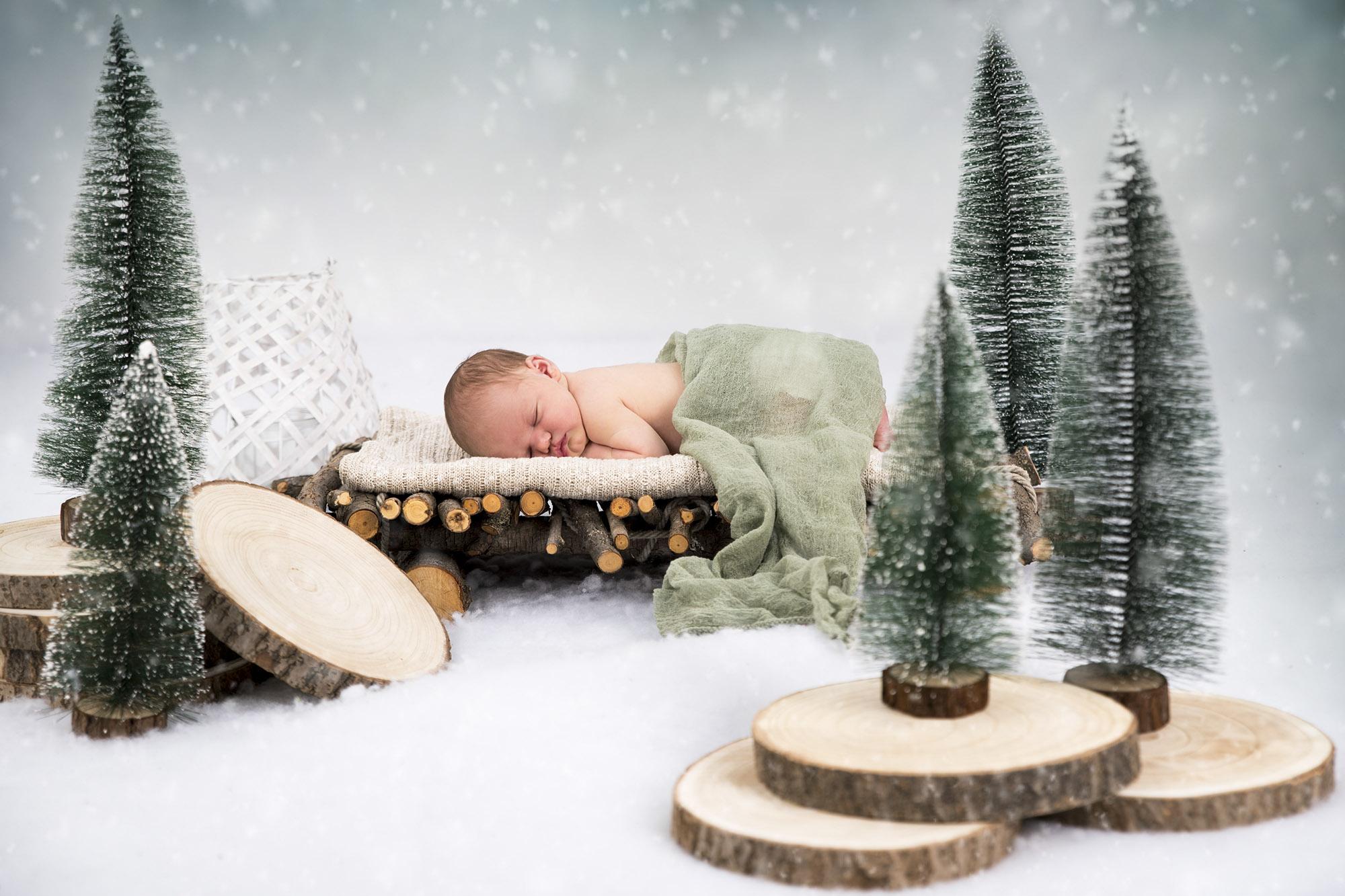 kreatív baba fotózás