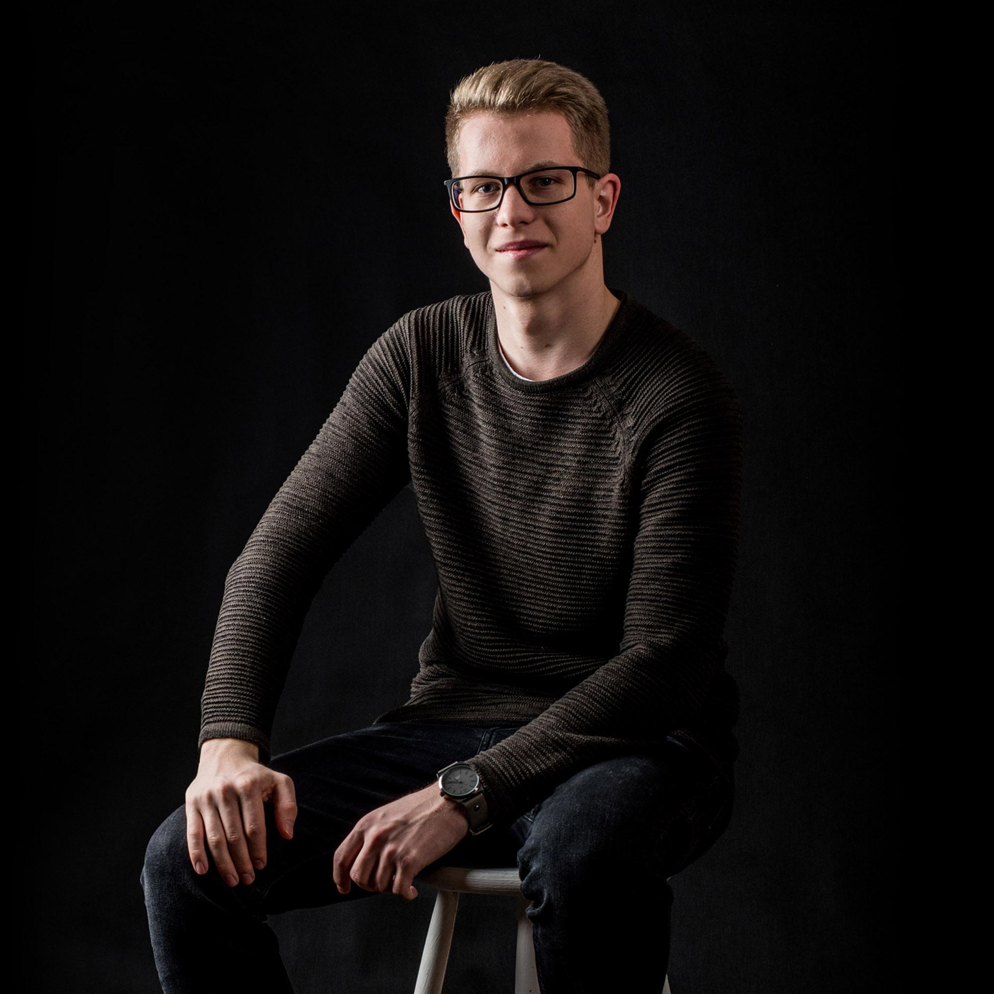 férfi portré fotós