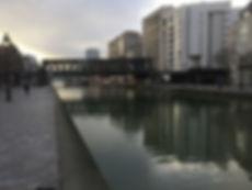 où courir à paris - photo bassin de la villette