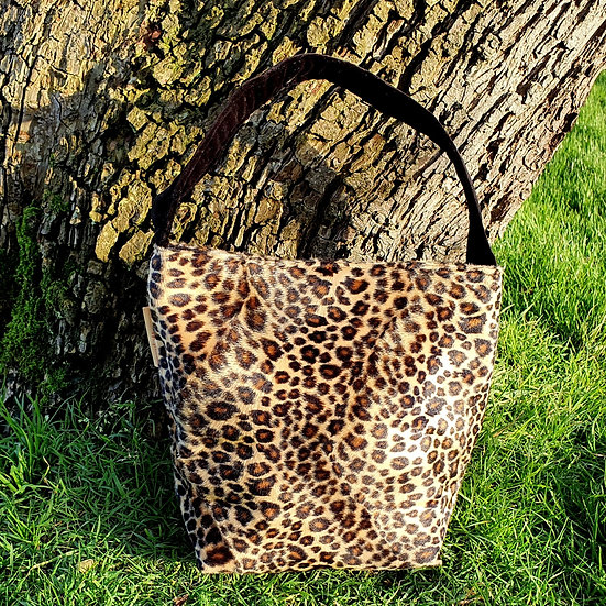 'Leopard Spots' Sock Project Bag