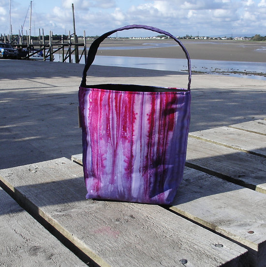 'Tigan' Hand Dyed Sock Project Bag