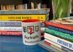 PORTRAITS podcast mug