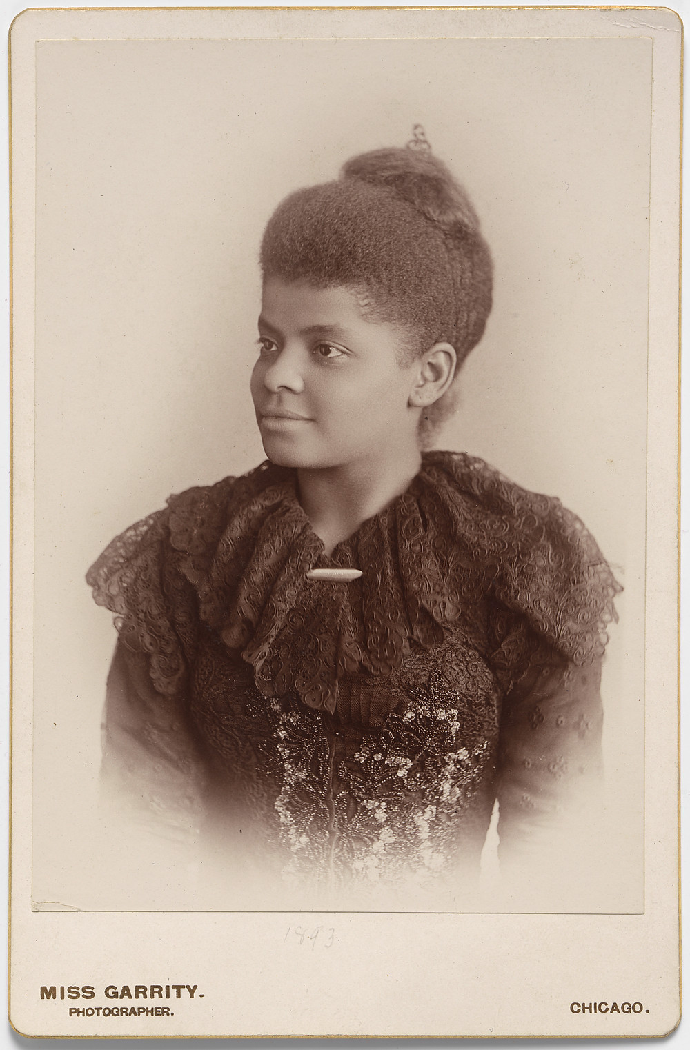 Artist: Sallie E. Garrity. Albumen Silver Print. National Portrait Gallery, Smithsonian Institution.