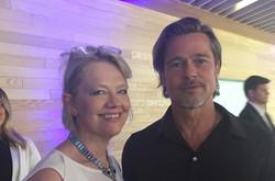 Meeting Brad Pitt