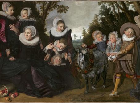 No Kidding: Dutch Boys & Their Pet Goats!