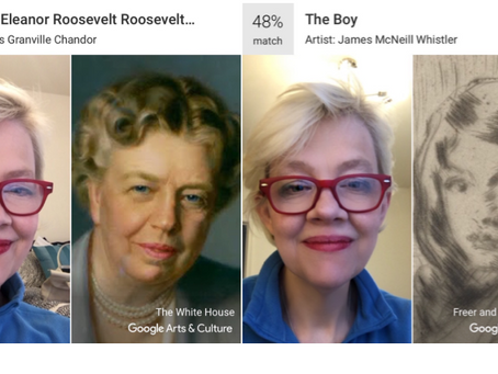 Eleanor Roosevelt and I: A match made by Google