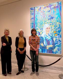 Julie Packard & artist Hope Gangloff