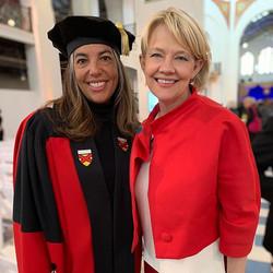 Academic walk with Gwendolyn DuBois Shaw