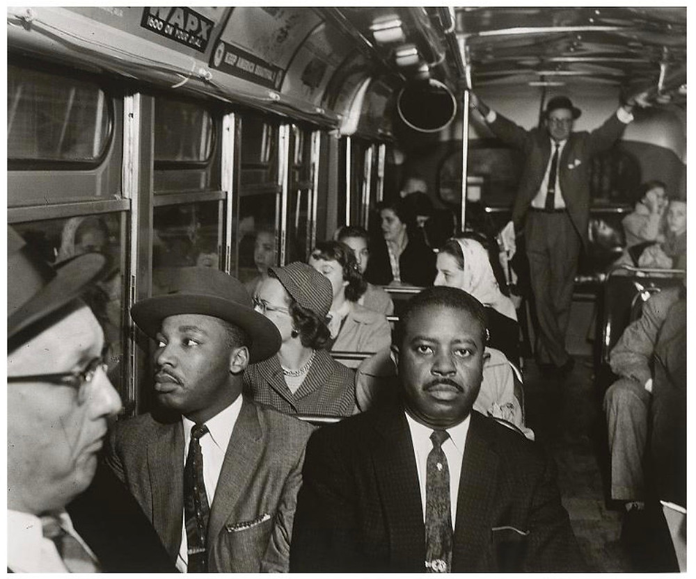 Ernest C. Withers, Martin Luther King, Jr., and Ralph David Abernathy,1956 (printed later), Gelatin silver print, National Portrait Gallery, Smithsonian Institution © Dr. Ernest C. Withers, Sr. courtesy of the Withers Family Trust.