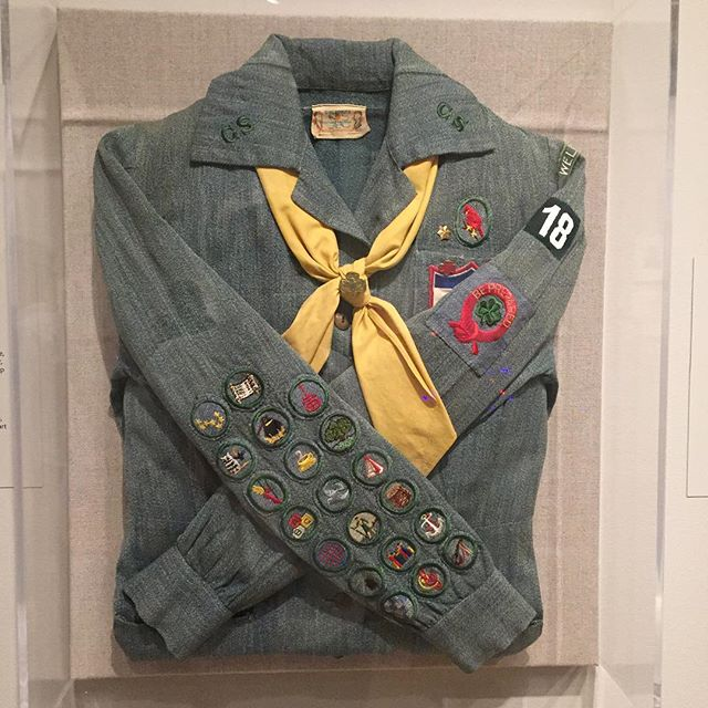 Sylvia Plath's girl scout uniform