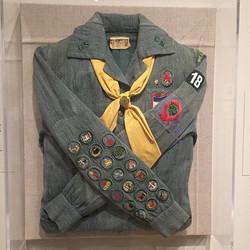 Sylvia Plath's girl scout uniform
