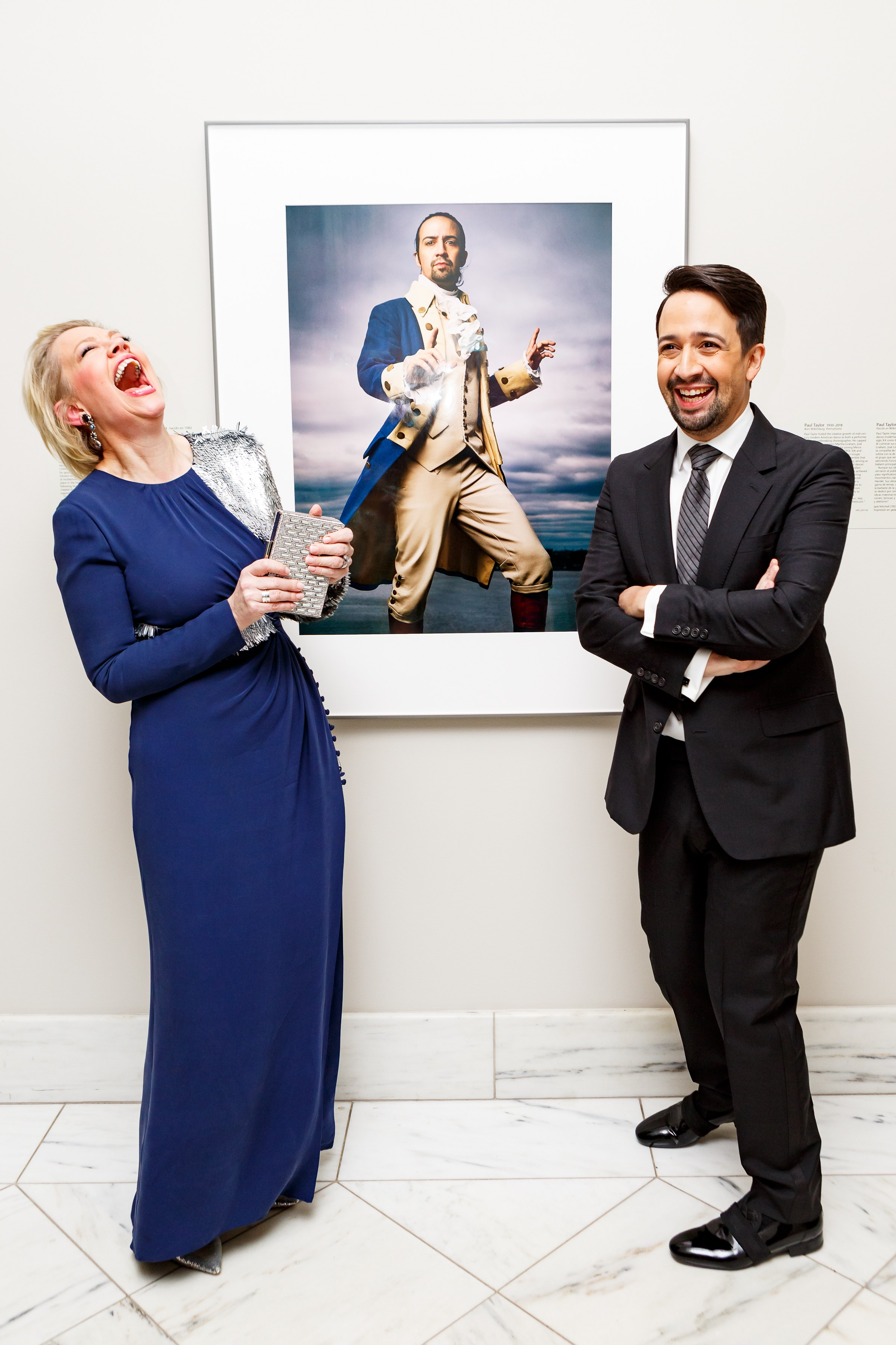 With Lin-Manuel Miranda