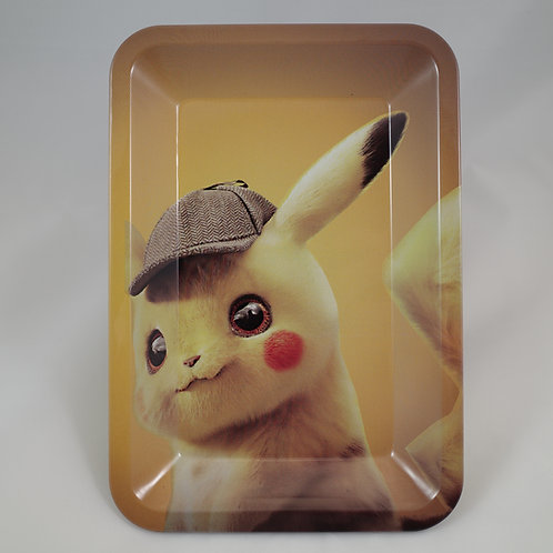 Detective Pikachu Pokemon Small Metal Rolling Tray