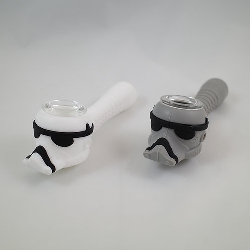 Stormtrooper Star Wars Silicone Hand Pipe