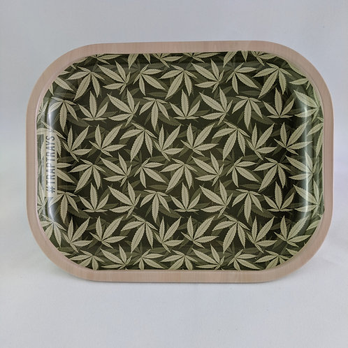 Simple Leaf Metal Rolling Tray