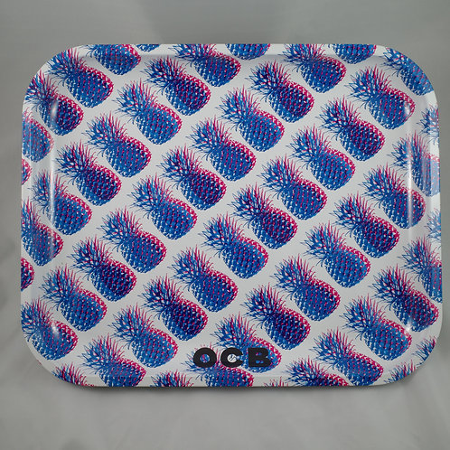 OCB Pineapples Jumbo Metal Tray