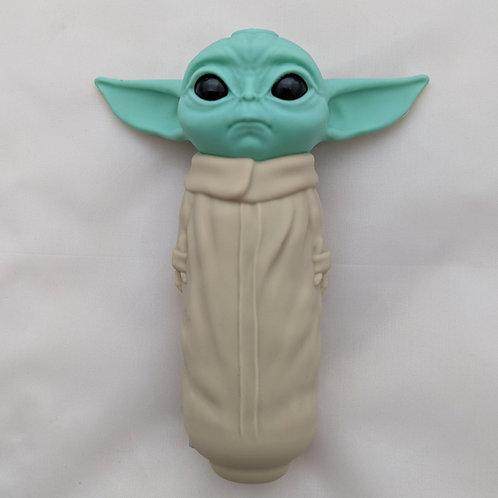 Baby Yoda Grogu Star Wars Silicone Hand Pipe