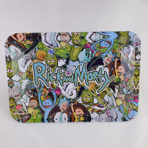 Rick and Morty Small Metal Tray