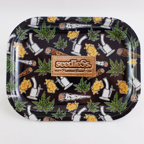Seedless Brand Stoner Small Metal Tray