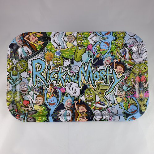 Rick and Morty Large Metal Tray